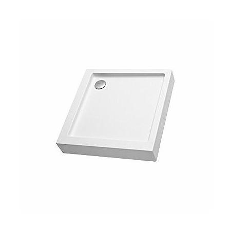 Koło Simplo Brodzik prostokątny 80x80x17 cm, biały XBK0681000
