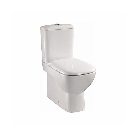 Koło Style Toaleta WC kompaktowa 36,4x64x79,5 cm Rimfree z powłoką Refleks, biała L29020900