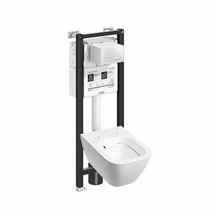 Koło Technic GT Modo Pure Toaleta WC podwieszana 54x35 cm Rimfree bez kołnierza ze stelażem biała z powłoką Reflex 99660900