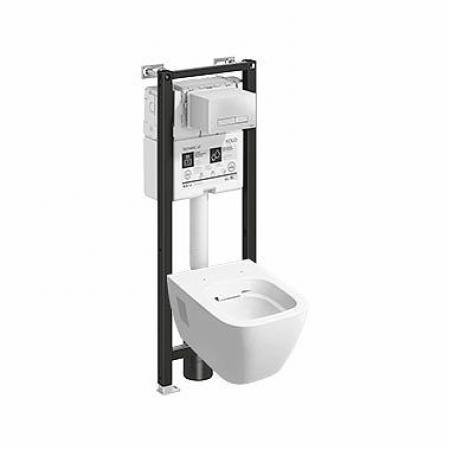 Koło Technic GT Modo Toaleta WC podwieszana 54x35 cm Rimfree bez kołnierza ze stelażem biała z powłoką Reflex 99399900