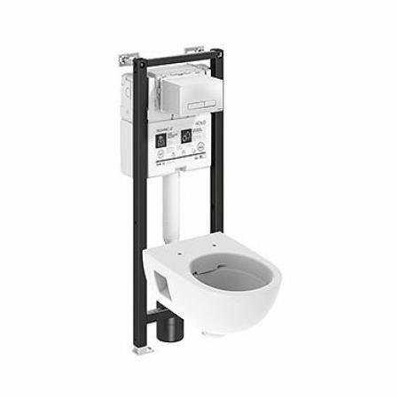 Koło Technic GT Nova Pro Premium Toaleta WC podwieszana 53x36 cm Rimfree bez kołnierza ze stelażem biała 99664000