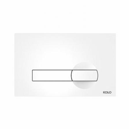 Koło Technic GT Przycisk spłukujący Clip do stelaża do WC, biały 94163-001