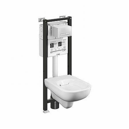 Koło Technic GT Traffic Toaleta WC podwieszana 54x35 cm Rimfree bez kołnierza ze stelażem biała z powłoką Reflex 99367900