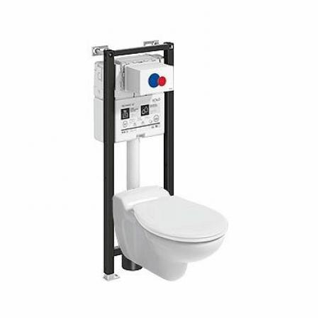 Koło Technic GT WC Geberit Bambini Toaleta WC podwieszana dziecięca 53,5x33 cm ze stelażem biała 99416000