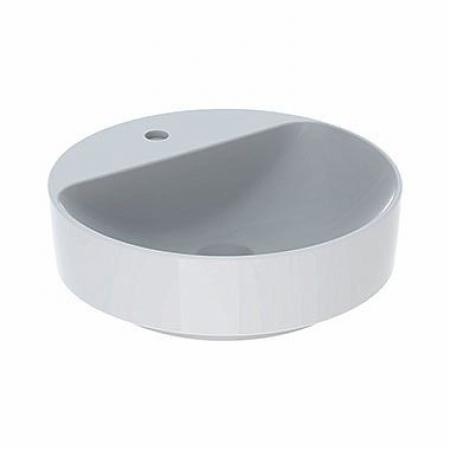 Koło Variform Umywalka nablatowa 45 cm bez przelewu z otworem na baterię biała 500.770.01.6