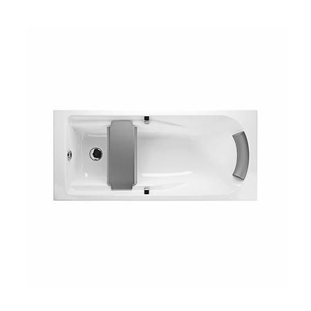 Koło Comfort Plus Wanna prostokątna 180x80x41 cm z uchwytami, biała XWP1481