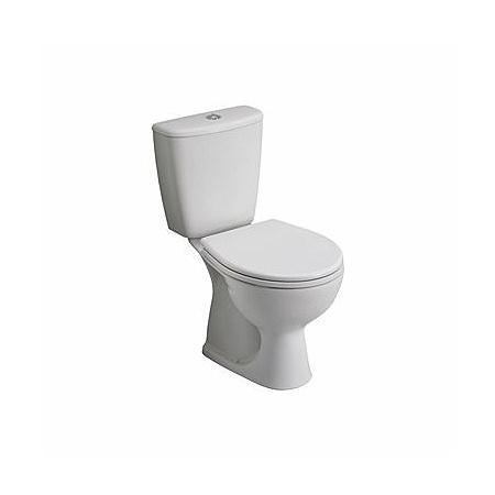 Koło Rekord Toaleta WC kompaktowa 36,6x62,5x76,4 cm odpływ pionowy, biała K99001