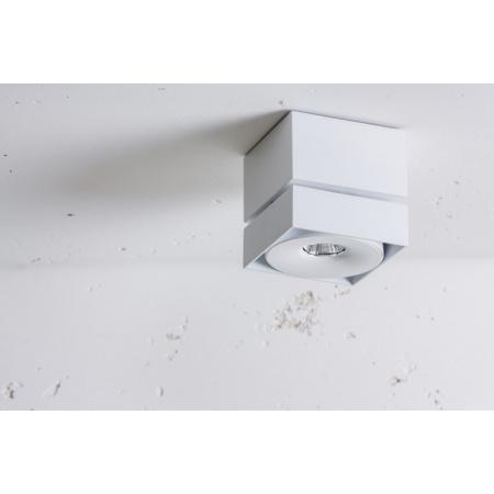 Labra Geit Q NT edge.LED Reflektor LED CoB 1x 7,5W 450 lm (CRI95) 12 stopni, aluminium 2-0895A.12.930