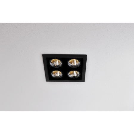 Labra Neutra Nano 4Q LED Lampa wpuszczana LED CoB 4x 5W 480 lm 20 stopni, aluminium 4-0491A.20.940