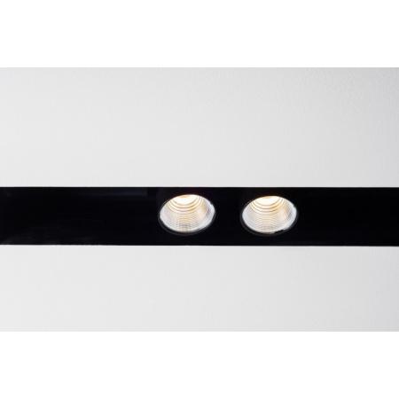 Labra Neutra System Midi Profil 1mb Lampa wpuszczana LED CoB 2.0 MIDI switchDIM/DALI 2x 13W 10 stopni 920 lm (CRI95), aluminium 6-1196A.10.930
