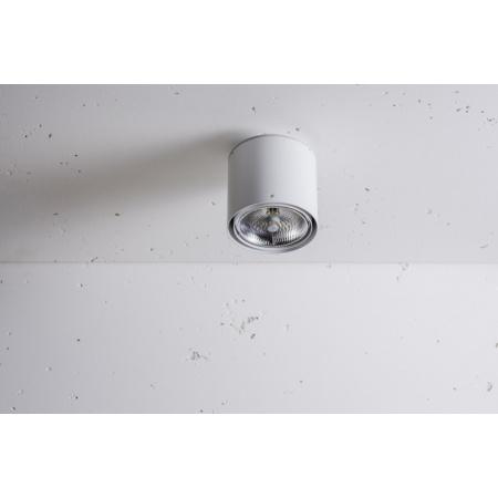 Labra Nex 1 NT Lampa sufitowa 1x 100W QR-LP111 G53, aluminium 3-0128A