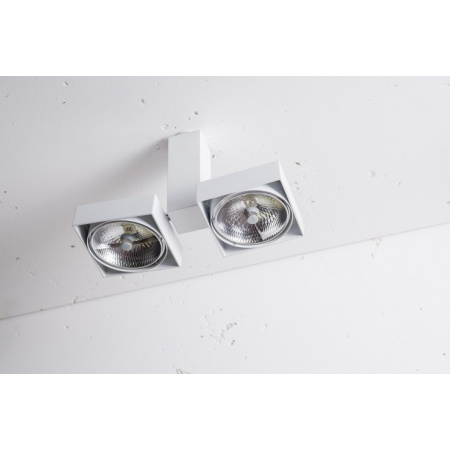 Labra Robotic Q2 Reflektor 2x 50W QR-LP111 G53, aluminium 2-0122A