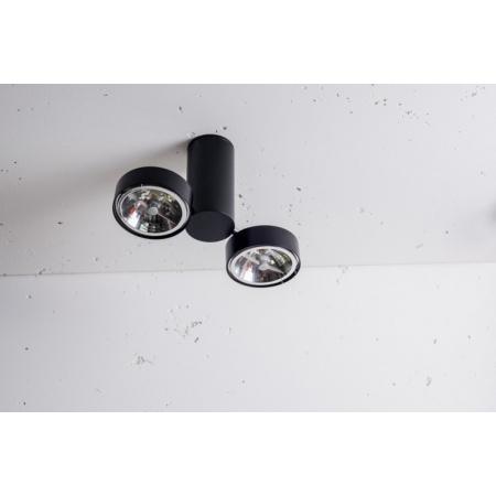 Labra Robotic R2 Reflektor 2x 50W QR-LP111 G53, aluminium 2-0124A