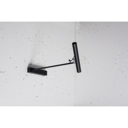Labra Stik 25.1 Wall KN Kinkiet Power LED 1x 2.2W 220 lm 43 stopnie ramię 18 cm, aluminium, czarny 1-1267AC