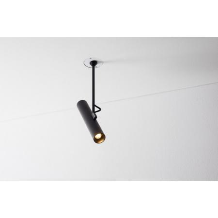 Labra Stik 35.1 WP Reflektor 1x 5W LED CoB 480 lm (CRI80) 50 stopni ramię 18 cm, aluminium, czarny 4-1278AC.840