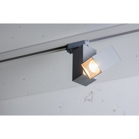 Labra Tida Duo Adaptor 3F Reflektor GU10 230V 1x 50W QPAR16, aluminium 7-0287A