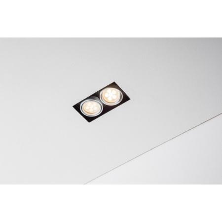 Labra Tweet 50.2 GU10 Trimless Lampa wpuszczana GU10 2x QPAR16 LED, aluminium 4-1143A