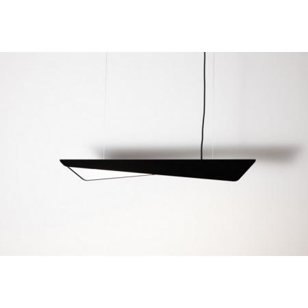 Labra Wave Max Minimal ZW Lampa wisząca 1x 23W 1x 3000 lm On-Off, czarno-biała 5-1177CB.830