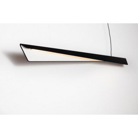 Labra Wave Max Superior ZW Lampa wisząca 1x 44W 1x 5400 lm On-Off, czarno-biała 5-1188CB.830