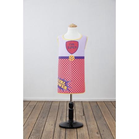 Ladelle Fartuch kuchenny 55x70 cm, fioletowy/różowy LD42606