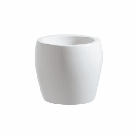 Laufen Alessi One Umywalka nablatowa ze zintegrowanym półpostumentem 45x40cm bez otworu na baterię, biały H8119734001091