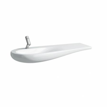 Laufen Il Bagno Alessi One Umywalka wisząca 120x50x16,5 cm z otworem na baterię, biała H8149734001041