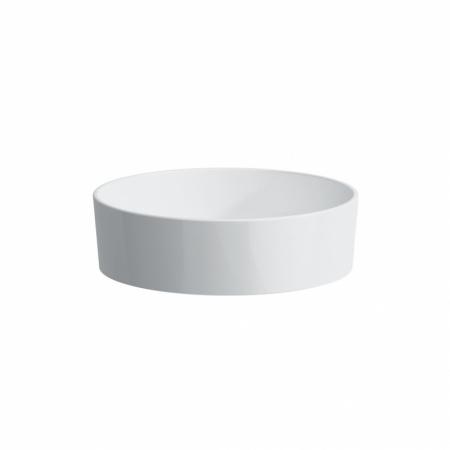 Laufen Kartell Umywalka nablatowa 42x42x12 cm ze szkliwieniem LCC, biała H8123314001121