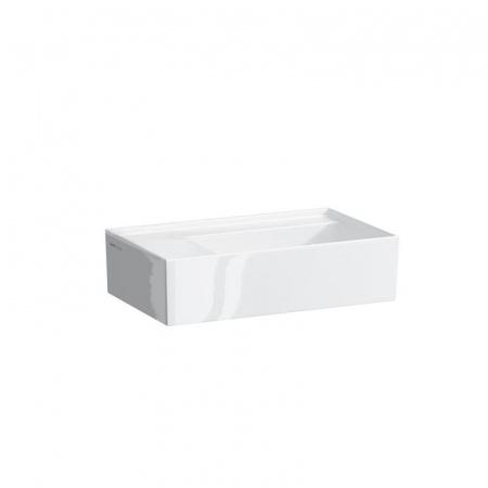 Laufen Kartell Umywalka wisząca 46x28x12 cm bez otworu na baterię, biała H8153350001121