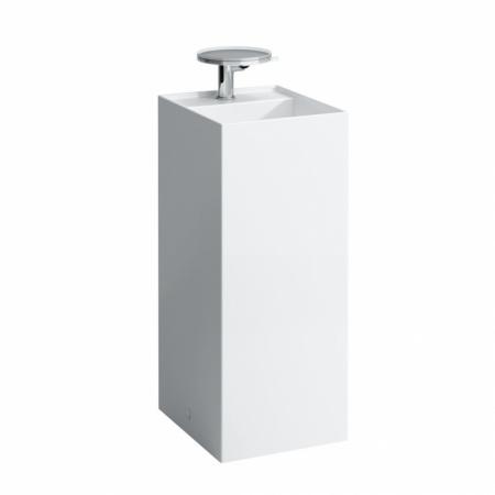 Laufen Kartell Umywalka wolnostojąca 37,5x43,5x90 cm ze szkliwieniem LCC, biała H8113314001111