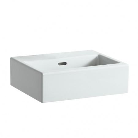 Laufen Living City Umywalka wisząca 45x38x15,5 cm bez otworu na baterię, biała H8154320001091