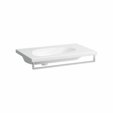 Laufen Palomba Umywalka wisząca 80x50x16 cm bez otworu na baterię, biała H8148040001091