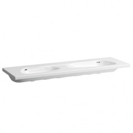 Laufen Palomba Umywalka wisząca 160x50x15,5 cm bez otworu na baterię, biała H8148090001091