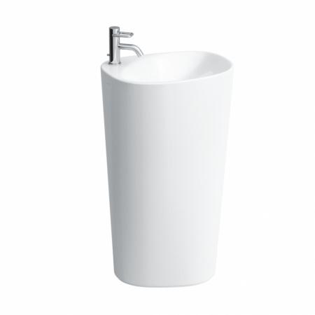 Laufen Palomba Umywalka wolnostojąca 52,5x40x90 cm ze szkliwieniem LCC, biała H8118034001041