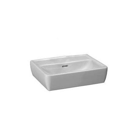 Laufen Pro A Umywalka wisząca 45x34x14,5 cm bez otworu na baterię i ze szkliwieniem LCC, biała H8119524001091