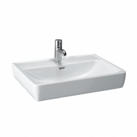 Laufen Pro A Umywalka wisząca lub nablatowa 65x48x17 cm ze szkliwieniem LCC, biała H8179534001041