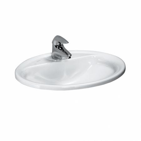 Laufen Pro B Umywalka wpuszczana w blat 56x44x18,5 cm, biała H8139510001041
