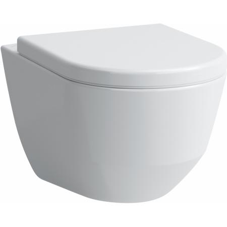 Laufen Pro Toaleta WC podwieszana 53x36 cm Rimless bez kołnierza ze szkliwieniem LCC, biała H8209664000001