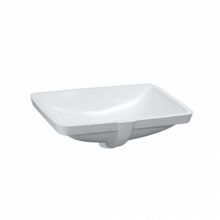 Laufen Pro S Umywalka podblatowa 49x36 cm ze szkliwieniem LCC, biała H8119614001091