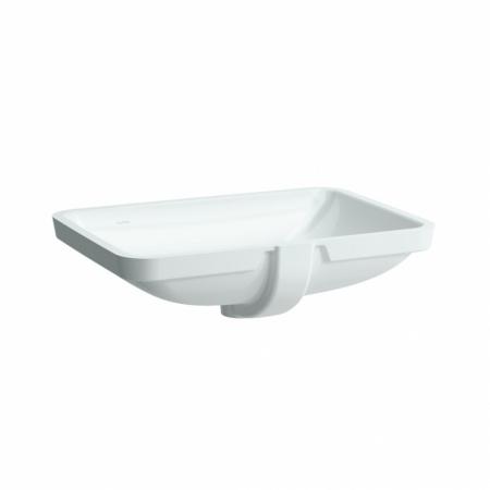 Laufen Pro S Umywalka podblatowa 59,5x43x17 cm ze szkliwieniem LCC, biała H8119684001091