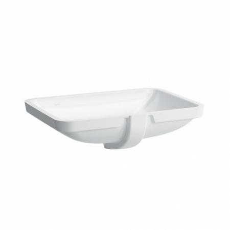 Laufen Pro S Umywalka podblatowa 62,5x45x17 cm ze szkliwieniem LCC, biała H8119694001091