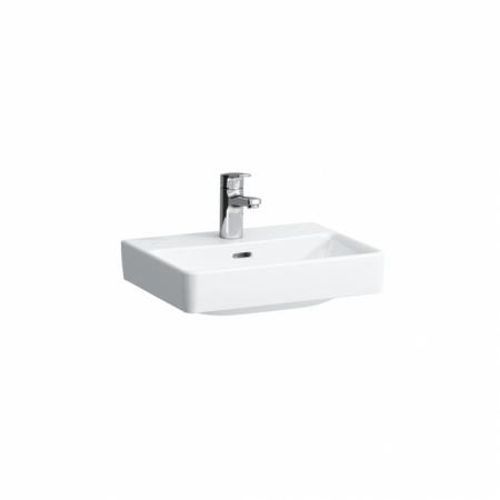 Laufen Pro S Umywalka wisząca 45x34x14,5 cm ze szkliwieniem LCC, biała H8159614001041