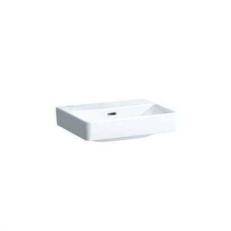 Laufen Pro S Umywalka wisząca 55x38x17 cm bez otworu na baterię, biała H8189580001091