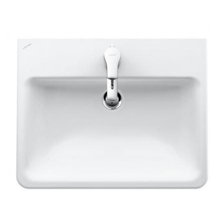 Laufen Pro S Umywalka wpuszczana w blat 56x44x17,5 cm ze szkliwieniem LCC, biała H8189634001041