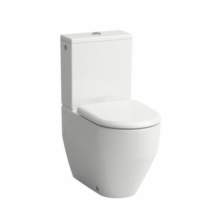 Laufen Pro Toaleta WC kompaktowa 36x65x43 cm ze szkliwieniem LCC, biała H8259524000001