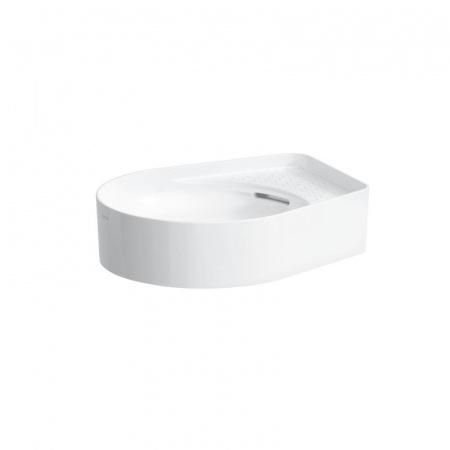 Laufen Val Umywalka nablatowa 50x40x12,5 cm bez otworu na baterię i z przelewem, biała H8122810001091