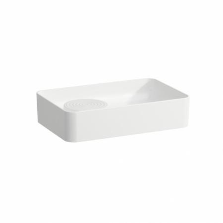 Laufen Val Umywalka nablatowa 55x36x12,5 cm bez przelewu, biała H8122820001121