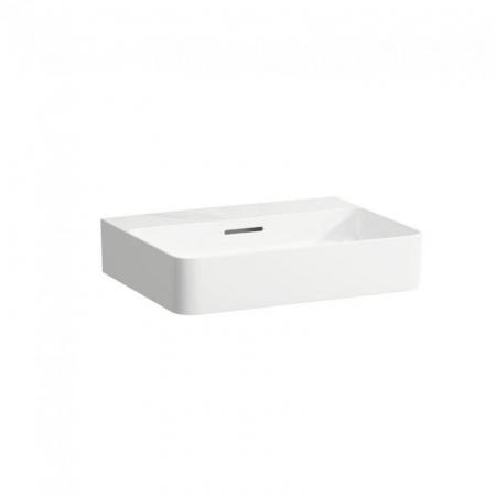Laufen Val Umywalka wisząca 55x42x11,5 cm bez otworu na baterię i ze szkliwieniem LCC, biała H8102824001091