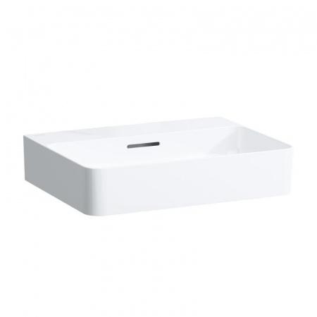 Laufen Val Umywalka wisząca 55x42x11,5 cm bez otworu na baterię i ze szkliwieniem LCC, biała H8162824001091
