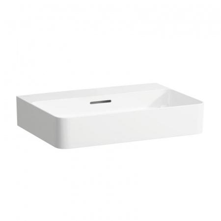Laufen Val Umywalka wisząca 60x42x11,5 cm bez otworu na baterię i ze szkliwieniem LCC, biała H8162834001091