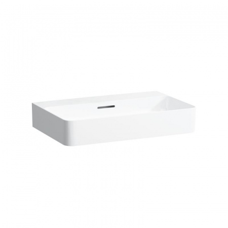 Laufen Val Umywalka wisząca 65x42x11,5 cm bez otworu na baterię i ze szkliwieniem LCC, biała H8102844001091